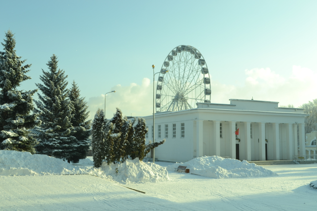 <center>Зимний парк<center>